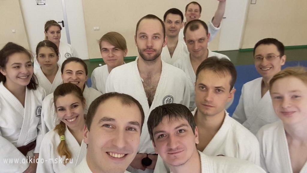 Семинар по Айкидо Ёсинкан в г. Воронеже (3-4 марта 2018 г.)