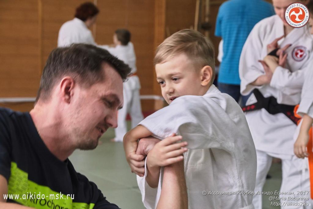 Прикладные техники и ОФП в айкидо