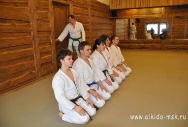 Весенний экзамен по айкидо 16.04.2011