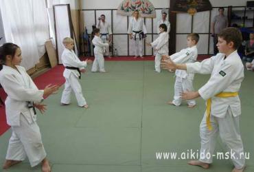 Осенний экзамен по айкидо 27.11.2011