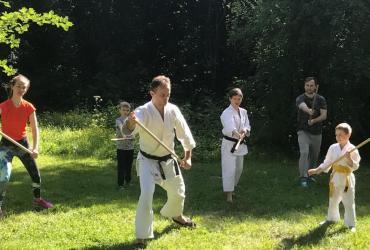 Тренировки по айкидо в парках Москвы