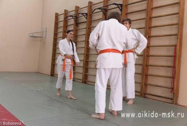 Экзамен айкидо 30.08.2014