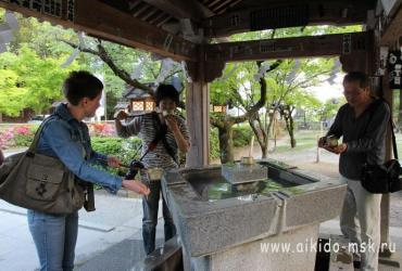 Интенсив-курс в Японии 2014. Яманаси додзе. День 3. Храм Такеда Сингена