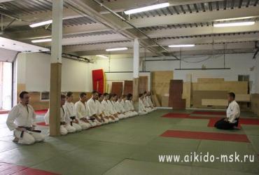 Ёсинкан Айкидо экзамен 25.08.2012